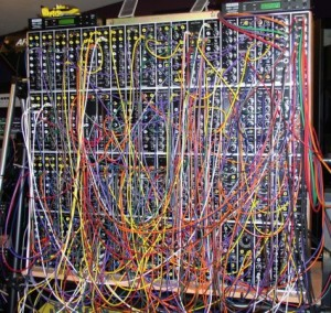 Modular synth fans have a tendency to go slightly overboard.