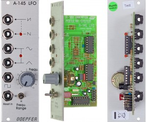 The Doepfer A-145 LFO.