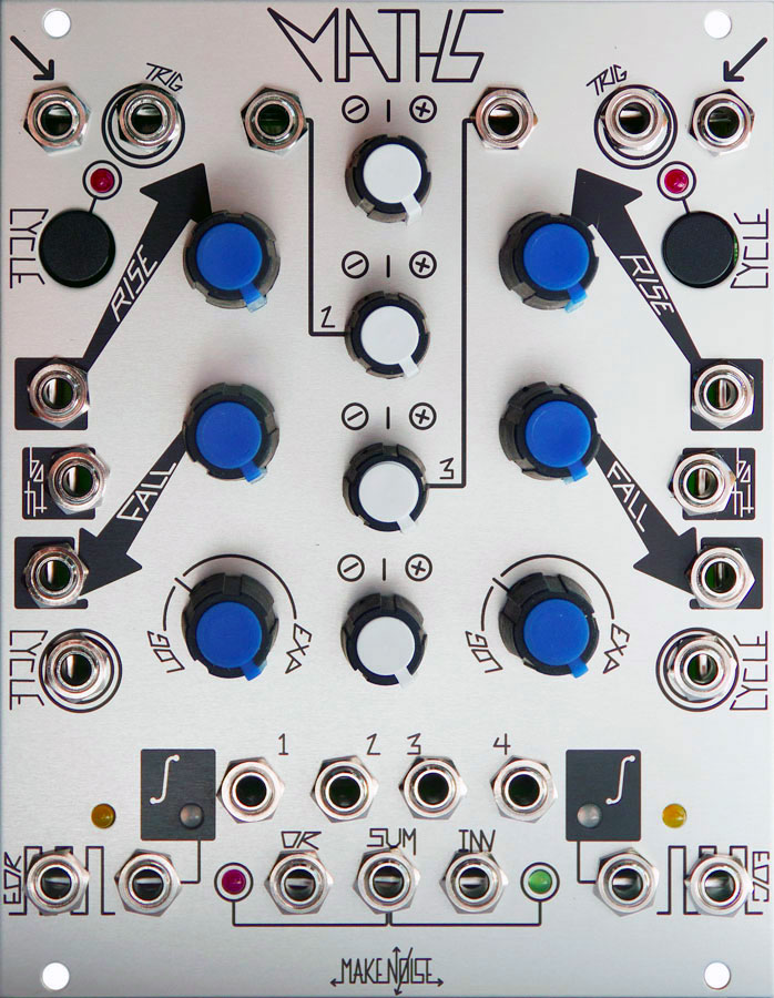 "The Maths ""Analogue Computer"" module from Make Noise."
