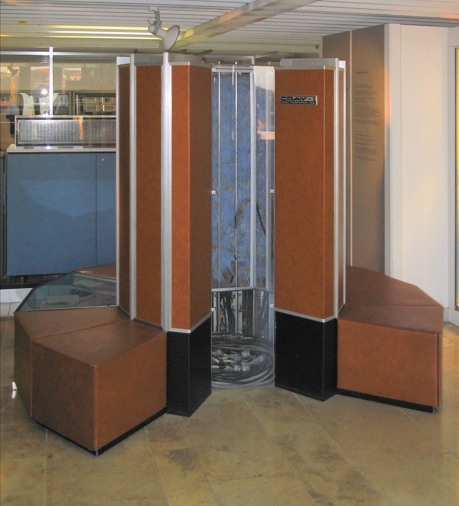 Cray 1, when you want your super in the lobby.