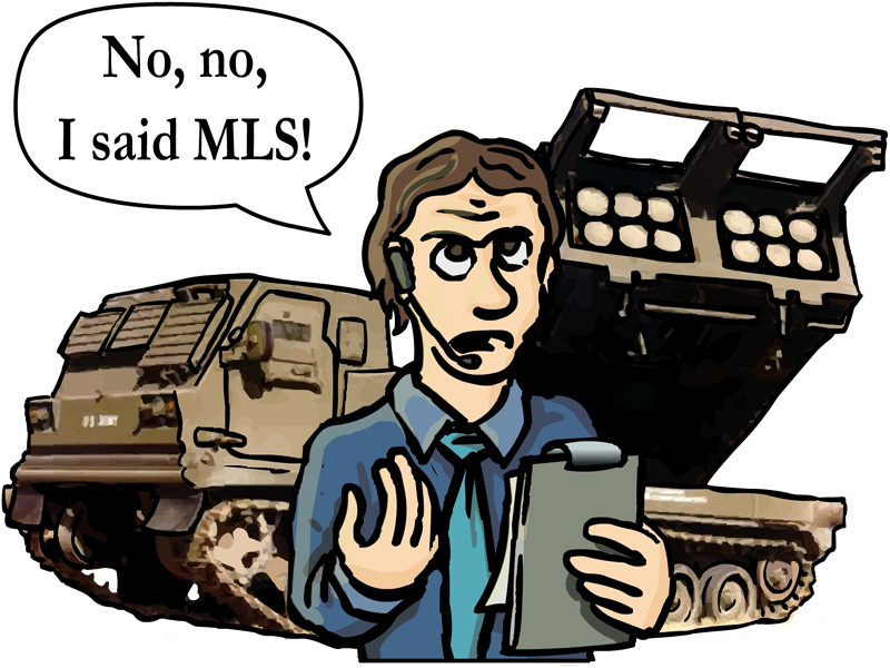 Are you sure you didn't order a MLRS?