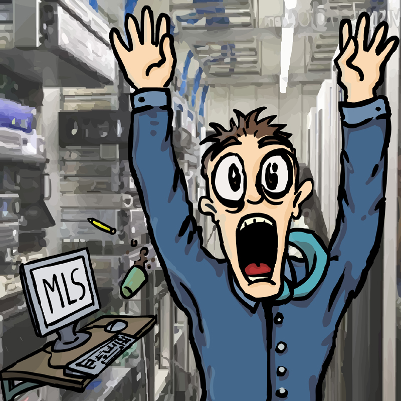 A typical sysadmin reaction.