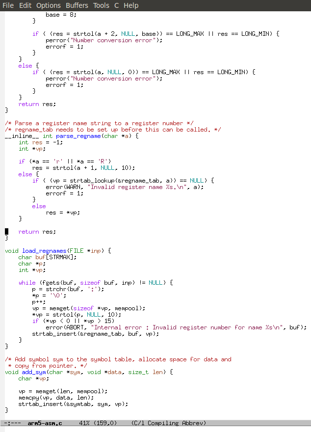 Distraction-free EMACS. You can almost smell the awesome.